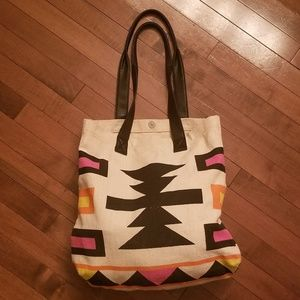 Mossimo womens tote bag 15x15 like new